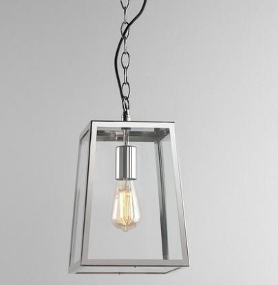 proste lampy do łazienki